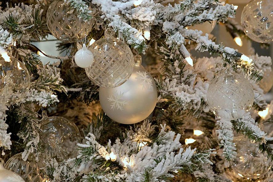 Стеклянные ёлочные шары