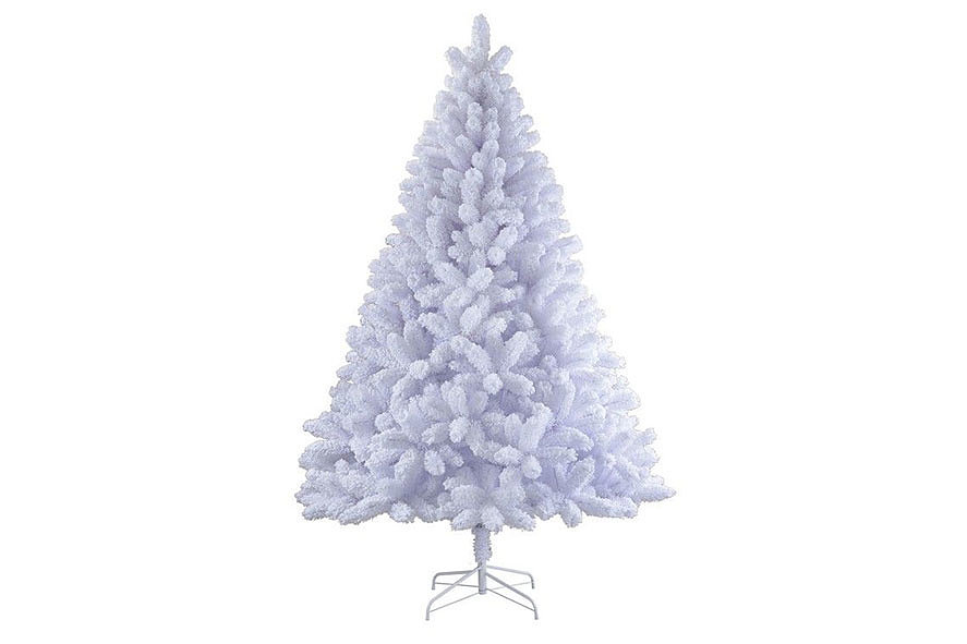 Белая елка