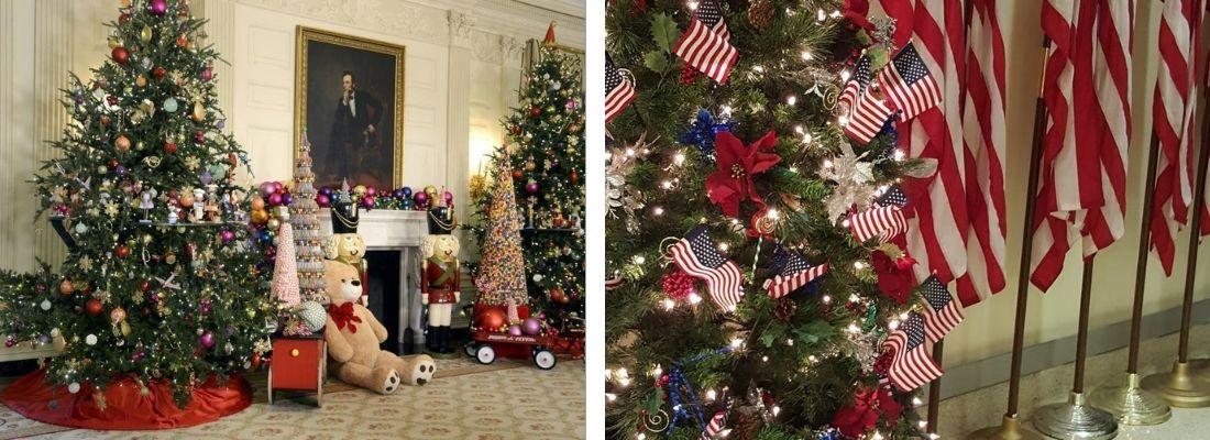 Какие елки популярны в США